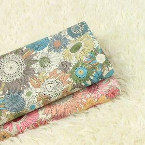 De haute qualité en tissu popeline de coton Belle impression tissu de qualité supérieure faits à la main patchwork vêtements robe bricolage