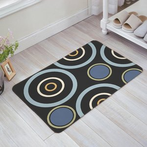 Geometric Door Mat Entry Way Doormats with Non Slip Backing Bathroom Kitchen Decor Rug Mat Welcome Entrance Rugs