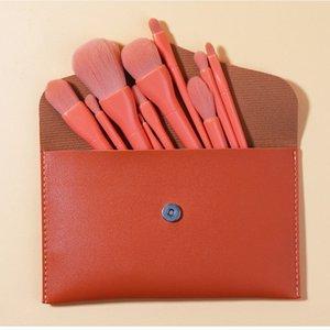 4 colors for option O.TWO.O super-soft makeup brush foundation  blush 10pcs multi-function makeup brush kit