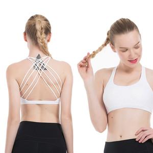 LU Sport Camisoles reggiseno superiore Yoga LU Womens Stylist T-shirt Gym Vest allenamento reggiseno di abbigliamento donna Tank Top XS-XL