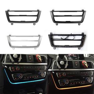 Radio Trim LED Dashboard Center Console AC Painel Azul Azul Laranja Luz Para BMW 3 4 Série 3GT F30 M3 M4 LCI