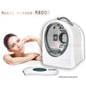 Profissional pele Analyzer inteligente pele Scanner Analyzer Magic Mirror Facial Pele Análise Máquina Sistema de Diagnóstico