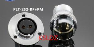 Free shipping lot (1 pieces lot)original New PLT APEX PLT-252-RF+PM PLT-252-RF-R PLT-252-PM-R 2PINS Aviation Plug and Socket Connect