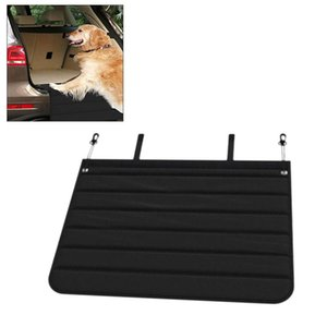 Noir Anti-sale Pad Pet Pad coffre de voiture Pare-chocs Protection Pliable Facile à nettoyer plancher de la voiture pour Pet Supplies