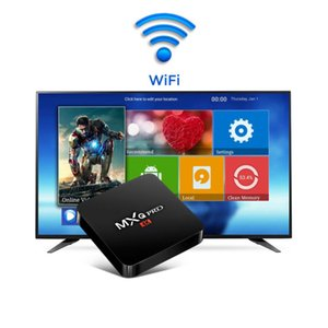 MXQ PRO MINI Android 8.1 TV-KASTEN 2 GB 16 GB S905W Quad Core 2.4G WIFI 4k Mediaplayer Smart-TV-BOX