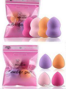 40piece Makeup Schwämme Puff Mini Foundation Sponge Puffs Gourd Wassertropfen Pulver flüssige Sahne Blender-Verfassungs-Werkzeug 4Pcs Ein Paket glatt