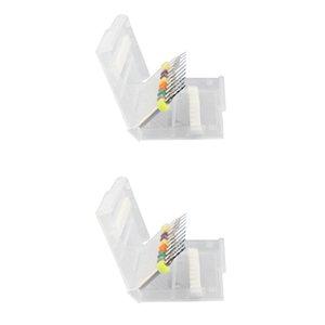 2x Sanding Sponge Self-adhesive Electric Tools Abrasive Discs Sand Paper Flocking -3000 #