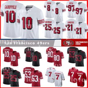 10 Джимми Гаропполо 49er Джерси 8 Стив Янг Сан-Франциско 80 Джерри Райс 7 Колин Каперник 53 Bowman 25 Ричард Шерман трикотажные изделия