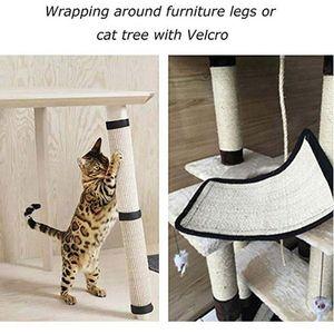 Pet SupliesCat Scratching Mat Mat post Sisal Naturel pour chats Protection sofa Meubles Anti Scratch Pet Climbing Arbre à chat Scratch Pad Board