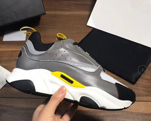 2019 nuevos zapatos deportivos para hombre B22 de alta calidad zapatos casuales para mujer de moda diseñador francés marca zapatos casuales a0404365