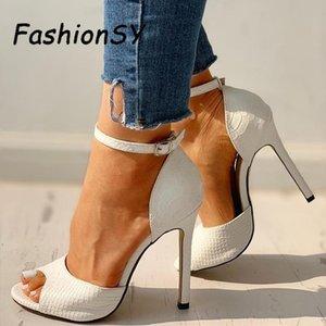 Women's Summer pumps Fashion Increased Stiletto Super Heel Sexy women shoes Exquisite High Heels Y200702