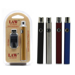 Law Preheating VV Battery Charger Kit 350 650 900 1100mAh Battery E Cigarette Vape Pen Fit 510 CE3 Thick Oil Cartridge