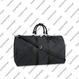 Bandoulière 45 50 borsa a tracolla della borsa della borsa zona di spalla del cuoio genuino totale 55 viaggi Totel bagagli M40569 M56711 N41349