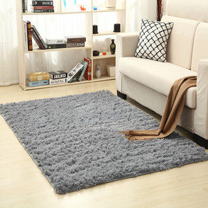 Yimeis Carpet Living Room Solid Color Rug Bedroom Carpets and rugs for home living room CT49001 T200111