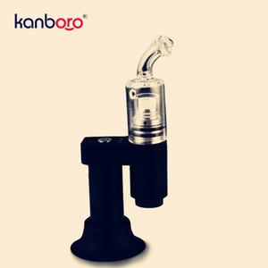 2020 Top ventes Kanboro de Portable Enail sec Herb Cire Vaporizer électronique Hookah Dab Rig céramique Bobine Atomiseur