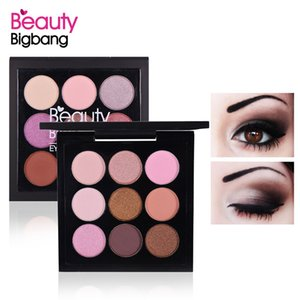 BeautyBigBang 9 Colors Eyeshadow Pallete Eyeshadow Matte Shimmer Makeup Pallete Sombras Maquiagens Cienie Do Powiek Eye Shadow