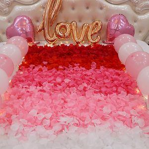 VOILEY Düğün Parti Dekorasyon için 500 adet Yapay Gül Yaprakları. Romantik Yapay Gül Yaprakları Düğün Çiçek Çiçek, B
