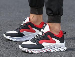 2020 Mesh Running Shoes Mens scarpa da tennis Scarpe antiscivolo Lace-Up di sport esterno fatto a mano morbida con la scatola