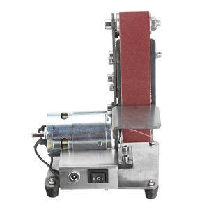 350W 4000-9000RPM elétrica ajustável velocidade Mini Belt Sander Polimento de moagem antiderrapante abrasivo Cintos Grinder
