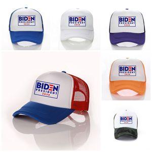 100pcs US-Präsidentschaftswahl Joe Biden im Freien Baseball-Mütze Schatten Präsident Joe Biden Werbe Cap Cap BIDEN Hat USA T3I5763