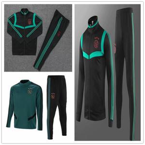 2018-19 20 Ajax eğitim takım elbise FC Futbol ceket eşofman survetement ZIYECH TADIC Huntelaar Dolberg Schone Formalar Futbol ceket chándal