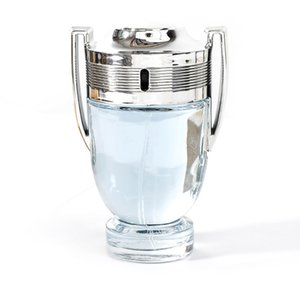 Fragrância para homens Parfum ambição invicta / valentes copo Silver Trophy perfume eau de toilette Spray para homens 100ML