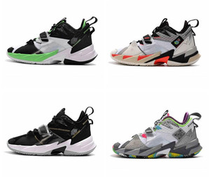 Nike Air Max Retro Jordan Shoes Russell Westbrook III Why Not Zero.3 Herren-Basketball-Schuhe für hohe Qualität Regenbogen-Schwarz-Leopard-Korn aj 3s Sport Sneakers Schuhe