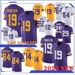 19 Adam Thielen 14 Stefon Diggs Hombres de Minnesota jerseys de Viking 22 Harrison Smith Primos Kirk 8 84 33 Randy Moss de Cook Hughes primera calidad
