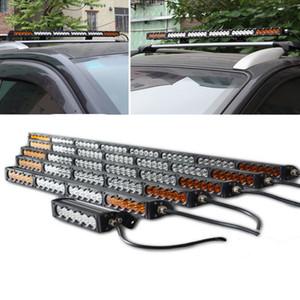 Araba Led Light Bar 7 13 20 26 31 38 44 50 56 İnç 270W Beyaz Amber Combo Oto SUV Kamyon 4X4 4WD 5W Ledler 12V 24V Led Bar offroad
