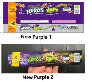 medicated nerds packaging Three edge-sealing bag exotic mini deodorant polyester foil Food package Nerds Rope candy bag