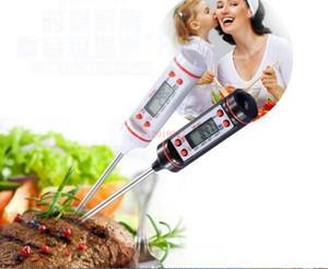 Высокое качество TP101 экран трубки цифровой приготовления пищи зонд мясо бытовой термометр кухня барбекю 4 кнопки 400 шт.