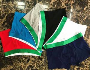 Padrão de peixe de alta qualidade design boxer homens algodão underwear curto para homens marca sexy underwear casual homem curto gay underwearweares shorts