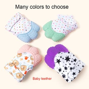 Baby Teether Baby Silicone Molar Stick Gloves Children Bite Music Toys Maternal and Child Supplies Soothers & Teethers DHB393