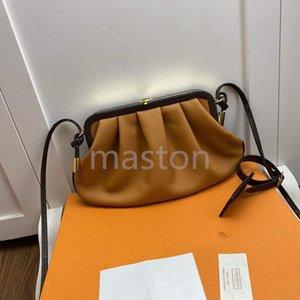 Les femmes concepteur sac pochette nuage messager monnaie soir sacs boulette enveloppe SS20 sac à bandoulière rond mono gramme d'embrayage sacs à main nouveau 9bc1 #