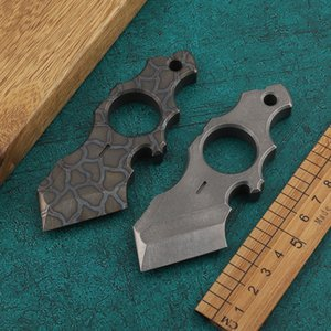 Titanium alloy TC4 tactical tool outdoor carrying window breaker finger tiger bottle opener punch outdoor high hardness