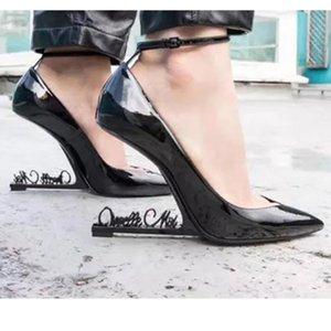Neue Brief Ferse T Show Abend Party Pumps Shinny Spitz Mode Hochzeit Kleid Schuhe Sexy Einzelne Schuhe 10 cm ferse