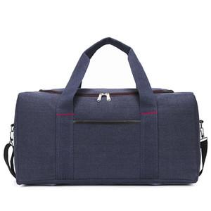 Wobag Toile Sac de sport grande capacité Sacs de voyage bagage à main Casual Hommes Sport Sac de sport Femmes Organisateur Voyage B274