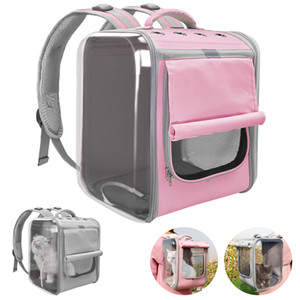 Pet Carrier For Dogs Cat Breathable Dog Backpack Cat Carrier Carrying Bag Portable Dog Outdoor Travel Bag for Yorkie Chihuahua