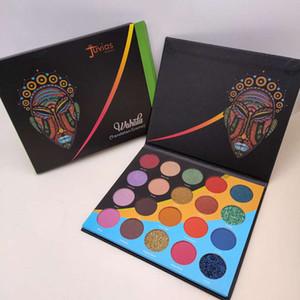 HOT Die Wahala Palette 20 Farben Lidschatten-Palette Glitter-Schimmer-Matte leicht zu tragen Langlebig