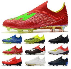 2019 Moda Mens Ace 18 Purechaos FG chuteiras Taça do Mundo de Futebol Sapatos ACE Tango 18 PureControl Ronaldo Neymar Chuteiras de futebol