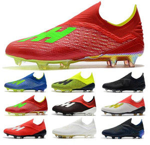 2019 Moda Uomo Ace 18 Purechaos FG scarpe da calcio Coppa del Mondo Scarpe da calcio ACE Tango 18 PureControl Ronaldo Neymar Tacchetti da calcio