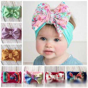 2019 bambini accessori per capelli per le ragazze jojo Siwa capelli bambina fasce cape Fiocchetti per bambini hairbands stampati in nylon headwraps boutique fasce