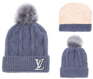 Luxus Designer Unisex Frühling Winter Hüte für Männer Frauen Beanie Wollmütze Mann Strickmütze Polo Beanie Gorro Chapeu gestrickt verdicken warme Mütze