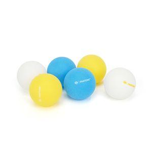 6PCS PANTONE TABLE TENNIS BALL SET