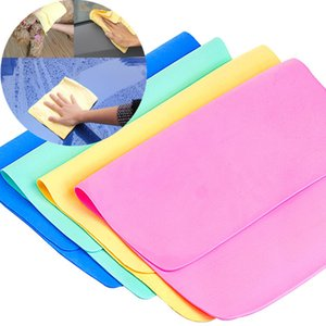 1PC منشفة جلد الأيل متعددة الوظائف المسحات منشفة لينة جلد غسل التنظيف