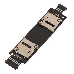 Double lecteur de carte SIM slot Support Câble Flex pour ASUS Zenfone 5 A500CG A500KL