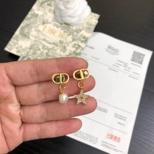Hot women pearl Earring Exquisite design 2020 New high quality with box Hot sell fashion beautiful luxury Accessories free shipping 062484