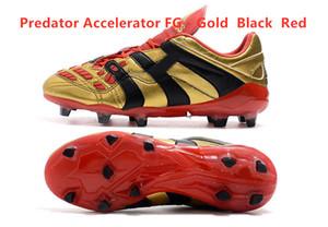 Orijinal futbol krampon yırtıcı MANİ futbol ayakkabıları Kramponlar futbol botları yırtıcı mani Hassas Hızlandırıcı DB David Beckham FG Altın