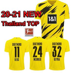 Tailandia 20 21 BVB HAALAND la camisa del fútbol jerseys REUS SANCHO Fútbol PELIGRO Camiseta 2020 del desgaste 2021 de fútbol Kits De Maillots