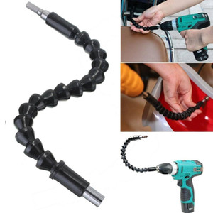 295mm Electronics Drill Black Flexible Shaft Bits Extention Screwdriver Bit Holder Connect Link